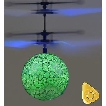 Rc Helicopter Aircraft - Flying Ball  Shinning Led Lighting Quadcopter Dron Fly Helicopter Toy