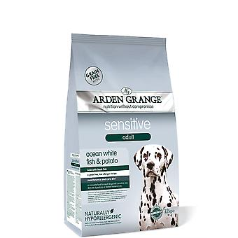 Arden Grange Adult Dog Sensitive - 12kg
