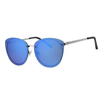 Lunettes de soleil Dames Femme Kat. 3 bleu (L6588)