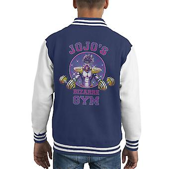 Star Platinum Jojos Bisarra Gym Kid' s Varsity Jacket