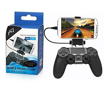 Cellphone Clamp Mobile Phone Gaming Clip Holder Clamp Handle Bracket