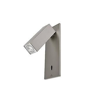 Leds-C4 GROK - LED 1 Light Indoor Wall Light Reading Lamp Satin Nickel