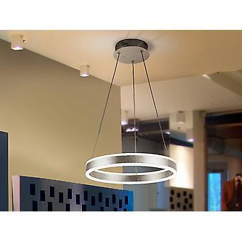 Schuller Helia - Colgante de techo LED integrado plata