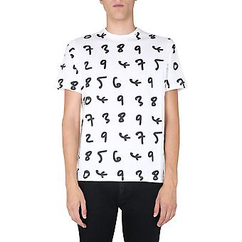 Paul Smith M1r919tep193801 Men's White Cotton T-shirt
