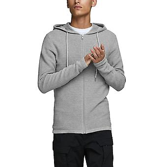 Jack & Jones Men's Liam Knit Zip Hoodie Essentials
