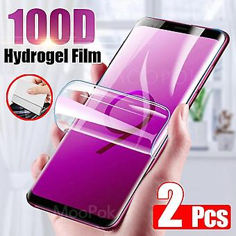 100d képernyővédő Samsung Galaxy S10 S9 S8 S20 Plus - Ultra Full Cover