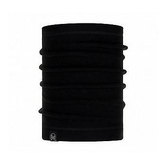 Buff Polar Neck Warmer Solid Black