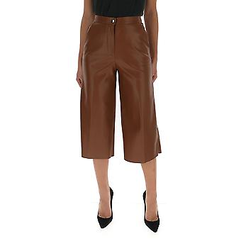 Semi-couture Y0wt02u660 Women's Brown Polyester Pants