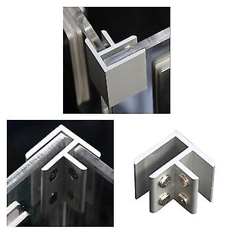 Geen Dril Glass Angle Clamp - Leuning Balustrade Bracket