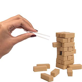 World-apos;s Smallest Topple Tower Game