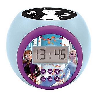 Lexibook Disney Frozen II Childrens Projector Clock with Timer (Model. RL977FZ)