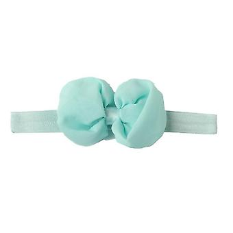 Newborn Toddler Girls Kid Baby Bow Hairband Headband Cute 3d Flower Stretch Turban Wrap Princess Accessories