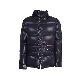 Moncler 1b5300068950742 Men's Blue Nylon Down Jacket