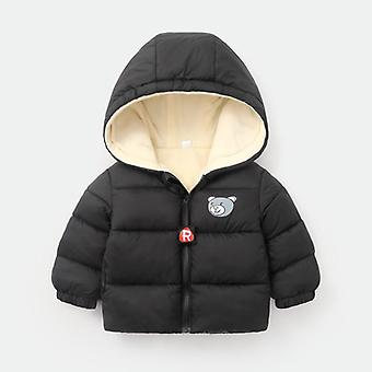 Hooded îngroșat jos Jacheta pentru copii