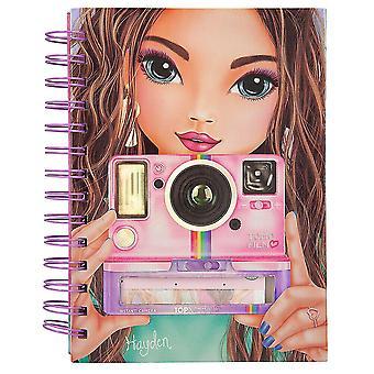 TOPModel Notebook with Selfie Notes