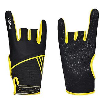 Men & Women Bowling Gloves, Anti-skid Soft Sports Accessories