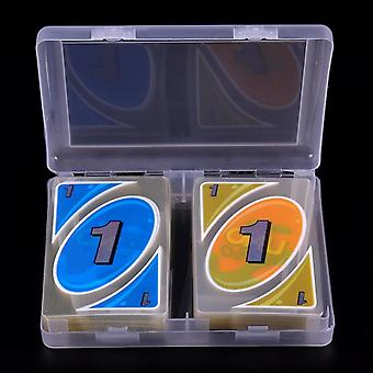 108/set With A Box Waterproof And Pressure Proof- Pvc Plastic Playing Card,