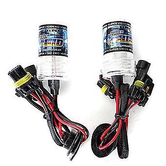 Pair 12V 55W H7 HID Car Headlights Xenon Lamp Bulbs 3000K-30000K