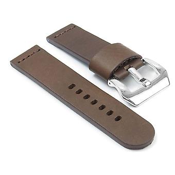 Strapsco dassari phantom thick leather watch strap