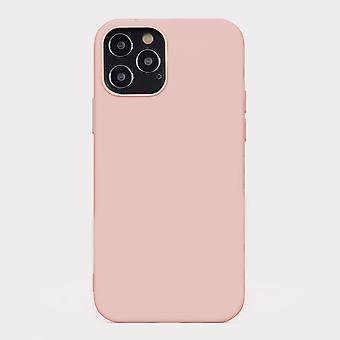 Pink iphone 12 pro soft silicone case