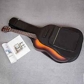 Zipper Oxford Cloth Full Size Guitar Bag Cover Carry Soft Interior Pockets