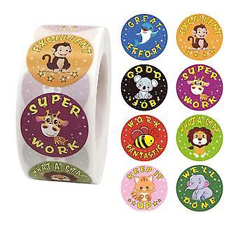 500 stickers stickers - Dierlijke motieven - Cartoon