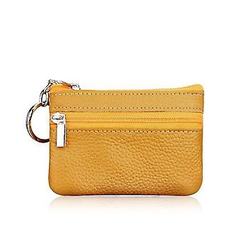 Leather Coin Pocket Purse
