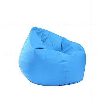 Stuffed Animal Bean Bag Cover Solid Colorful Oxford Chair Cover For Beanbag
