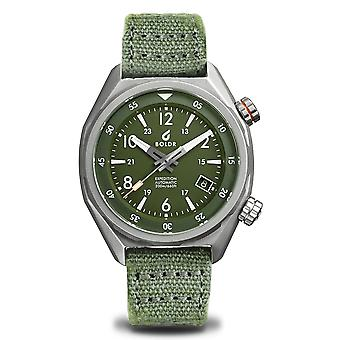 BOLDR EXPEDITION EL CAPITAN Automatic Green Dial Wristwatch