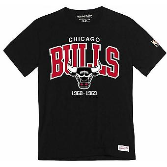 Mitchell & Ness Team Logo Traditionel Tee Chicago Bulls T-shirt TEAMARCHTRAD CBU