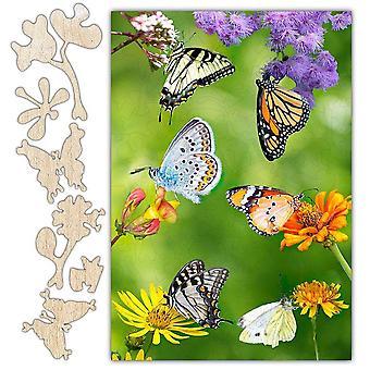 Butterfly Shromažďování puzzle
