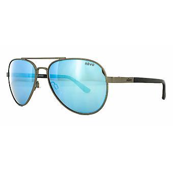 Revo Raconteur RE1011 00BL Gunmetal/Blue Water Sunglasses