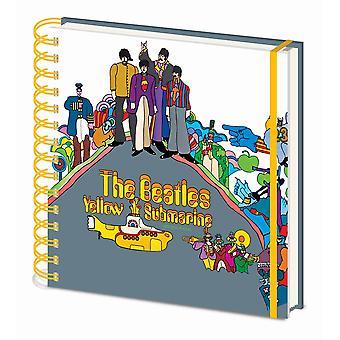 Beatles Żółty Okręt podwodny Kwadrat Notebook