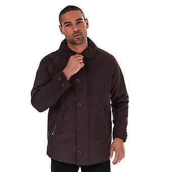 Men's Henri Lloyd Traditional Consort Oxford Jacket in Brown
