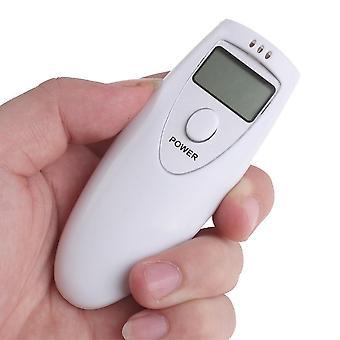Digital Breathalyzer Test Alkoholdetektering Exakt Mätanalysator
