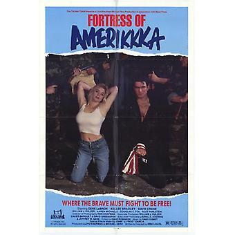 Fortaleza de Amerikkka Movie Poster (11 x 17)