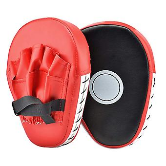 2 PCS Kick Boxing Gloves Pad Punch Target Bag Men MMA PU Karate Muay Thai Free Fight Sanda Training Adults Kids Equipment