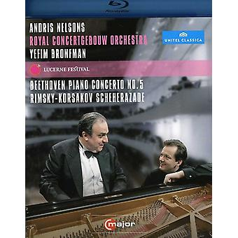 Lucerne Festival: Beethoven Rimsky-Korsakov [BLU-RAY] USA import