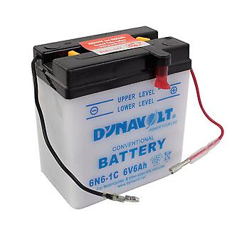 Dynavolt 6N61C Conventional Dry Charge Battery