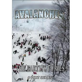 Earth's Furies: Avalanches [DVD] USA import