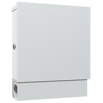 MOCAVI Box 600R brievenbuswit (RAL 9003) met krantenvak