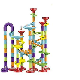 Marble Run Building Blocks 3d Maze Ball Race Track Roll Juguete