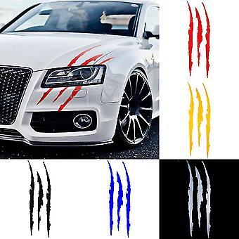 Auto Auto Tarrat, Heijastava Monster Kynsi Naarmuraita Merkit Ajovalo Tarra