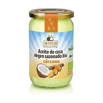 Organic Turmeric Coconut Oil 175 g of oil