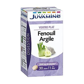 Flat Belly - Fennel / Clay 30 tablets