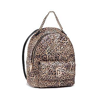 Backpack Liu-jo Backpack M Backpack In Ecopelle Leopard Woman Bs21lj19 Aa1342