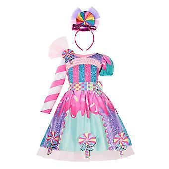 Καλοκαιρινό φόρεμα πριγκίπισσας, Elsa Anna φόρεμα μωρό ρούχα