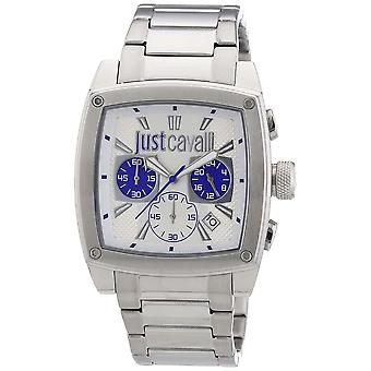 Just Cavalli Pulp Silver Dial Men's Watch R7273583002