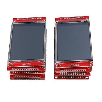 10pieces 2,8 tommers 240 x 320 SPI TFT LCD seriell port modul 5V / 3,3 V PBC-adapter