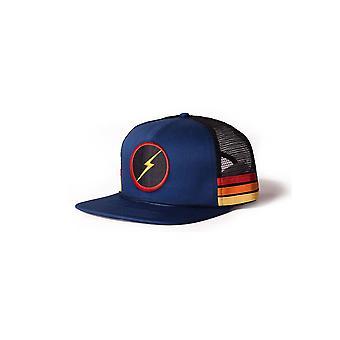 Lightning bolt sunset stripe hat